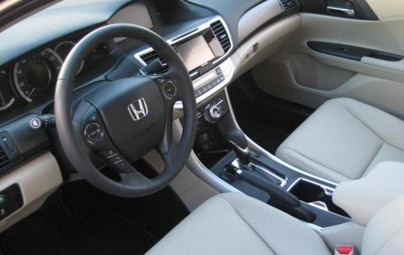 2013 Honda Accord - front interior