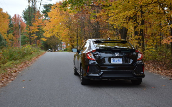 <p>Its handling prowess notwithstanding, one of the most impressive features of the Civic is its quiet ride. Honda has done a phenomenal job of sound deadening. While driving, one can hardly hear a peep from the engine or the weather outside.</p>