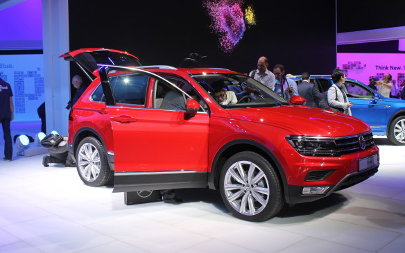 <p>Europeans will get the next Volkswagen Tiguan early in 2016, but we'll have to wait another year for it to arrive in Canada. When it comes, it will be only the long-wheelbase version.</p>