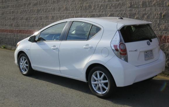 2012 Toyota Prius C - Rear