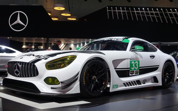 <p>Mercedes-Benz is jumping into the racing fray next year with several of its new Mercedes-AMG GT3 stallions set to be campaigned by serious 'customer' teams in the IMSA championship, the top series for sports cars on this continent. They will run in the GTD class in which international GT3 regulations apply. Cool cars. Serious stuff.</p>