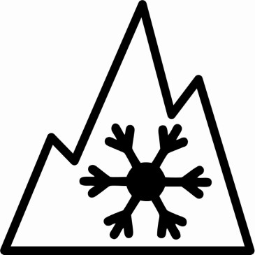 Winter Tire - Mountain-Snowflake Symbol