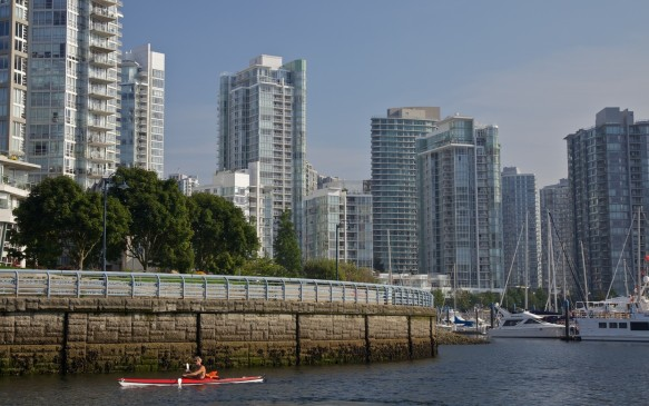 <p><strong>British Columbia –</strong> The third-highest prices among provinces are on the opposite coast where the average cost in B.C. is 99.0 cents/litre. In Vancouver, it's $103.7 – second only to Montreal among major cities – but a ferry-ride away in Victoria it's just 99.1 cents/litre.</p>
