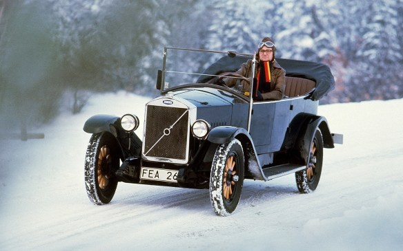 <p><strong>1927-1929 Volvo OV4</strong></p> <p>Volvo rolled out its first car in April, 1927. The OV4, like many cars of that time, was a convertible, but given the Scandinavian climate it didn't take Volvo long to add a sedan version (duh!). Both had bodywork based on a wooden frame, but while the open car employed steel panels, the sedan used a type of fabric. In 1928 Volvo's first truck appeared, based on the same chassis as the OV4.</p>