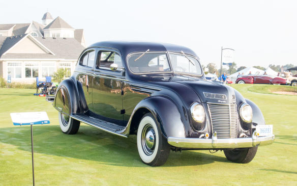 <p>So was this1937 Chrysler Airflow C-17, the last of the infamous Airflow models, with styling toned down from the original to the more traditional look of the day.</p>