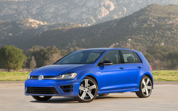 <p>The all-wheel-drive Golf R, built on VW's stronger, lighter MQB platform, boasts 292 horsepower and 280 lb-ft of torque. Plus, it's fully loaded with premium features and three levels of selectable dynamics.</p>