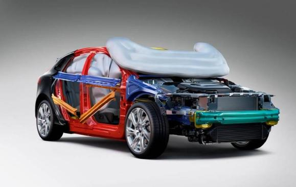 Volvo Pedestrian Airbag - Cutaway