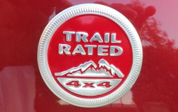 2014 Jeep Cherokee - Trail Rated badge detail