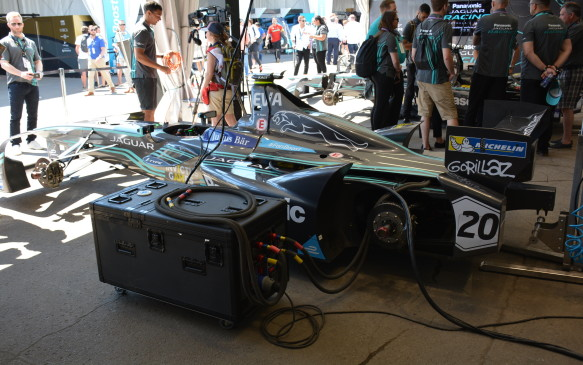 <p>In 2018-19, a 54 kWh battery produced by Lucid Motors, formerly known as Atieva, in partnership with McLaren Applied Technologies and Sony, will be used for all race teams. The larger battery will eliminate the need for two cars to be used during a single race.</p> <p>Eliminating the need for a car swap during the race showcases the rapid development of battery technology within the auto industry.</p>