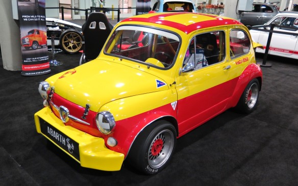 <p>Even Fiats get the treatment, both old...</p>