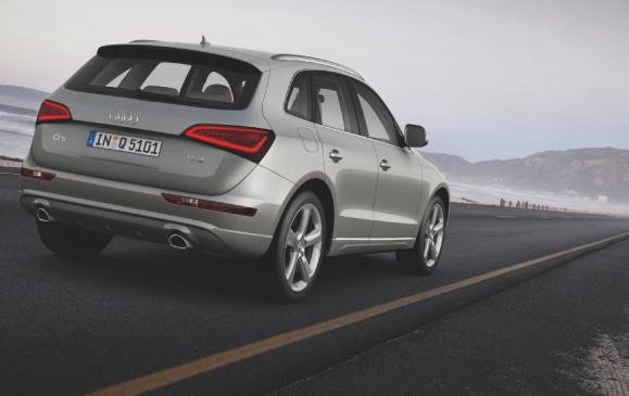 2012 Audi Q5 - rear 3/4 static