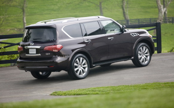 <p>Starting in 2011, the second generation of the humungous sport utility formerly known as the Infiniti QX56 used a truck frame pinched from the international-market Nissan Patrol (sharp-eyed TV news viewers can spot it in United Nations livery policing war zones), supplanting the one borrowed from the previous U.S.-built Titan pickup. This year, Infiniti's top-rung ute was recast as the QX80 with some styling tweaks and interior enhancements to take the big ute even further upmarket.</p>