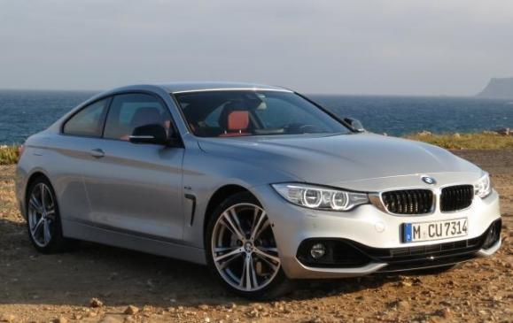 2014 BMW 435i Coupe - front 3/4 view