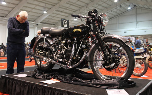 <p>It began its restoration as a set of crankcases, but is now bored out to 1,300 cc with a Terry Prince big bore kit and stroker crank, straight-through glass-pack exhaust and upgraded suspension and brakes.</p>