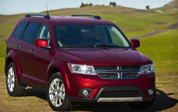 2013 Dodge Journey - front 3/4 view