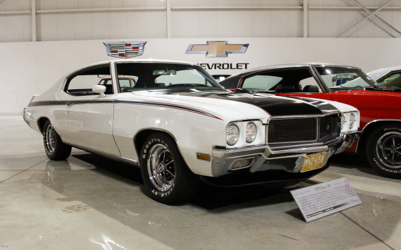 <p>Carrying the Buick muscle-car flag from the same era was this 1970 Buick GSX.</p>