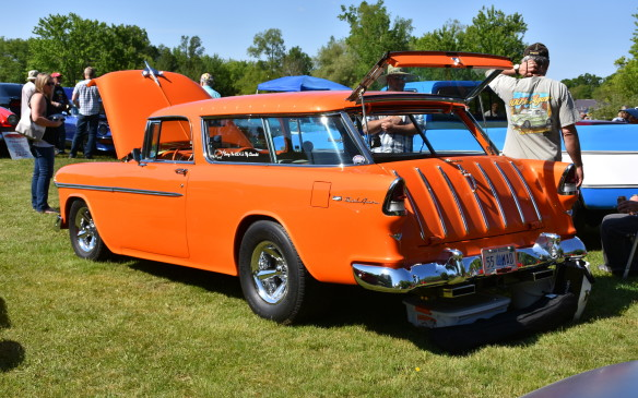 <p>1955 Chevy Nomad with 6.2-litre GM crate engine</p>