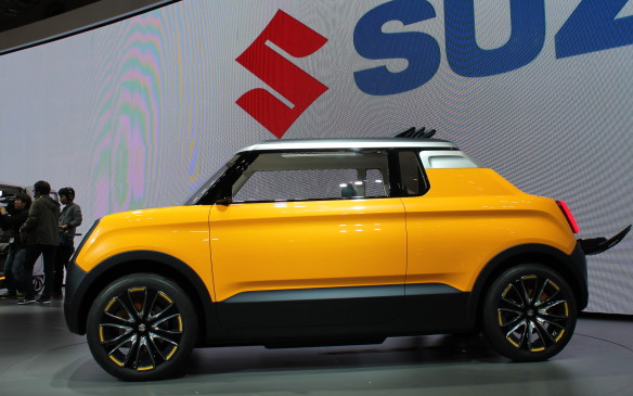 <p>Nobody does small like the Japanese car makers. The Suzuki Mighty Deck is a squished-in pick-up truck, the size of a kei car.</p>