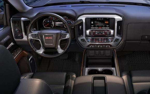 2014 GMC Sierra SLT - steering wheel and instrument panel