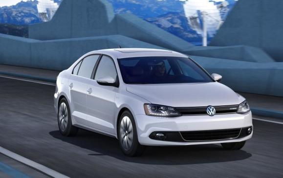 2013 Volkswagen Jetta Hybrid - Front