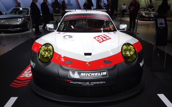 <p>The new 911 RSR has been painstakingly developed and extensively tested, racking up more than 35,000 km on both European and North American racetracks. In true Porsche fashion, it is ready to face the rigours of GT racing, including the toughest test of all: the season-opening 24-hour classic in Daytona. It even gets a radar-based system that will alert drivers to the closing rate of the faster prototypes to better avoid miscues or collisions: Street car technology to improve the racing breed!</p>
