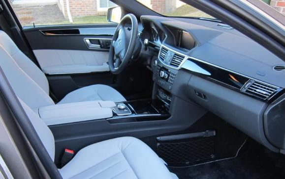 2012 Mercedes-Benz E350 - Front Seat