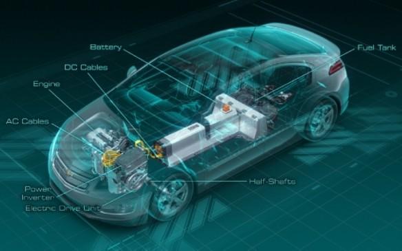 Chevrolet Volt - Cutaway