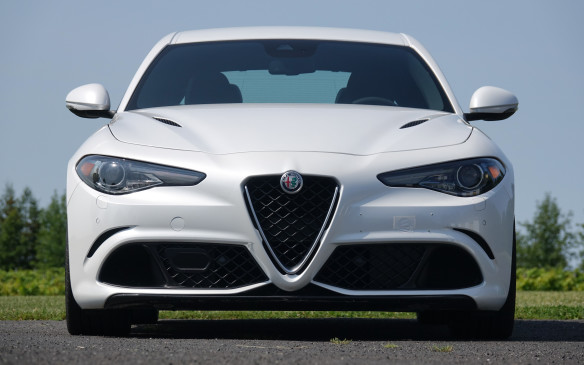 <p>It was the best of times for Alfa Romeo to return to North America two years ago, after a 20-year hiatus. The legendary Italian marque first introduced the 4C, a mid-engine, two-seat sports car with a carbon-fibre shell, for 2015. The second stage of this ambitious comeback came last spring, with the launch of the Giulia sports sedans for 2017.</p> <p>Three variants are currently offered in Canada: the Giulia and all-wheel drive Giulia Ti, both powered by a 280-horsepower, turbocharged four-cylinder engine. Then, there's this raunchy Giulia Quadrifoglio, with a twin-turbocharged V-6 sending 505 horsepower to the rear wheels only.</p> <p>By Marc Lachapelle</p>