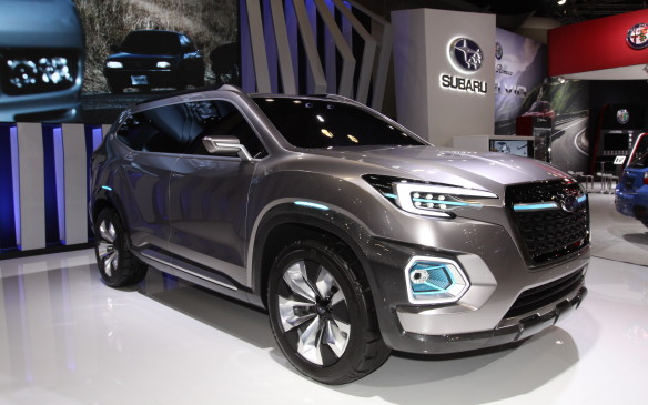 <p>Subaru Canada showed Vancouver show-goers what their vision is for a soon-to-come large SUV in the line-up.</p>