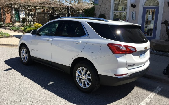 <p>For starters, the Equinox, which is built in Ingersoll, Ontario, has shed about 180 kilograms – 10%of its previous curb weight – by utilizing a new global platform that's shared with other members of the GM family, including the new Buick Envision. A shift to more high-strength steel, plus the use of adhesives rather than welds and other weight-saving techniques, has resulted in a chassis that's lighter, enhancing fuel efficiency without compromising torsional strength. Switching to an all-turbocharged, four-cylinder engine lineup has also helped shave weight, plus the vehicle itself is now 119 millimetres shorter, thanks to trimmed overhangs front and rear and a wheelbase that's been shortened by 132 mm.</p>