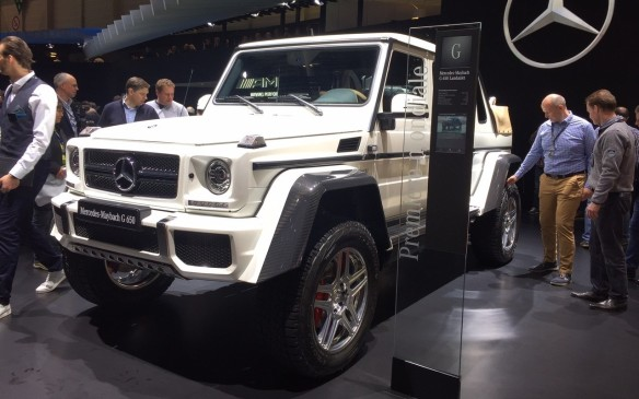<p>At $500,000, the Mercedes-Maybach G 650 is the most expensive – and dare we say, perhaps the ugliest – production SUV in the world. It's Daimler AG's latest extension of the top-of-the-line Maybach marque. Scheduled for a limited run of 99 units, it will have a V-12 engine and a landaulet style roof, with a front row that's covered and a retractable fabric roof in the back.</p>