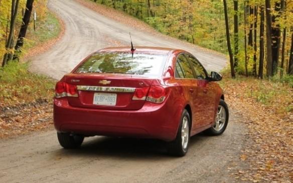 Chevrolet 2011 Cruze rear