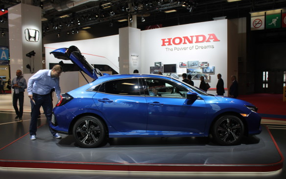 <p>The new Honda Civic, now in its 10th generation, will be available in Canada as a hatchback for the first time in years.</p>