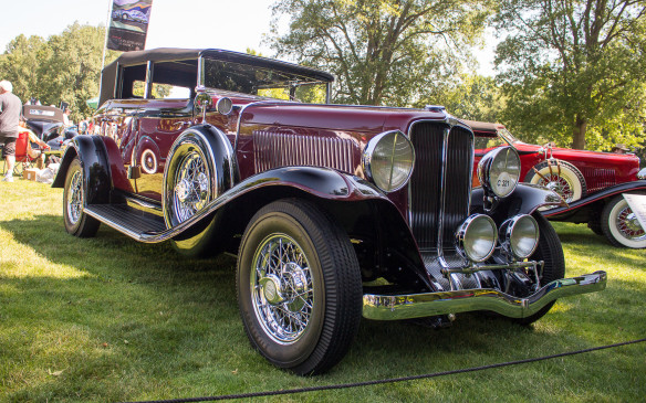 <p>From within the same class, this 1932 Auburn 8-100 A sedan represents a different, more formal approach to mid-luxe design from the junior member of the family.</p>