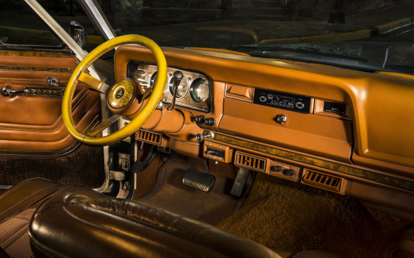 <p>In 1973, the Wagoneer introduced Quadra-Trac, the first automatic, full-time four-wheel-drive system.</p>