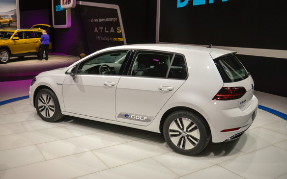 <p>The e-Golf will offer 50% more range thanks to a new 35.8 kWh battery. The new setup enhances its specs to a new total power output of 134 hp, with214 lb-ft of torque. In addition, the interior has been enhanced with a digital 12.3-inch cluster and integrated infotainment unit. </p>