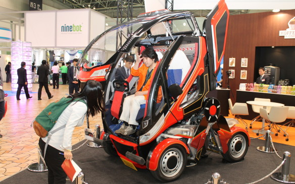 <p>Its creator admits that the folding wheelbase is also just fun to operate.</p>