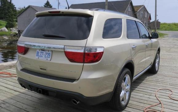 2012 Dodge Durango - rear 3/4 view