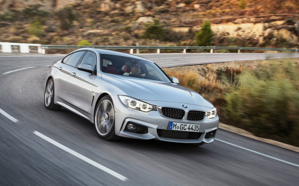 <p>BMW's new 4 Series led the way in the premium compact class, followed by the Lincoln MKZ and Lexus ES.</p>