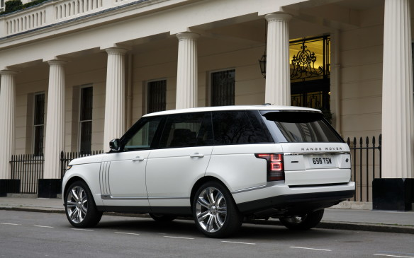 <p>Given its extreme price tag, the Range Rover LW uses its most extreme powertrain too, including a 510-horsepower supercharged 5.0-litre V-8 and the most sophisticated four-wheel-drive system around. You'll never be late for a dinner date again.</p>