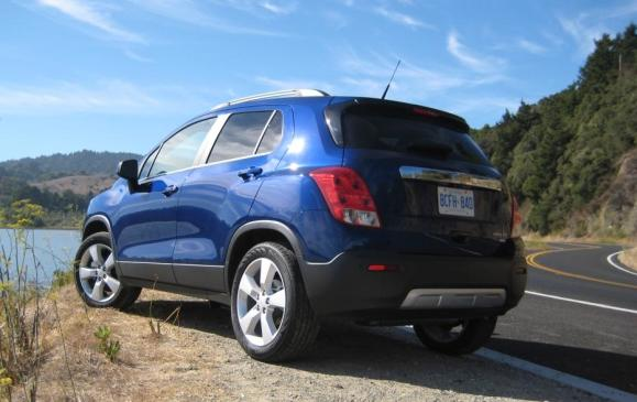 2013 Chevrolet Trax - rear 3/4 view low