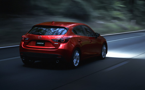 <p>2014 Mazda3 Sport</p>