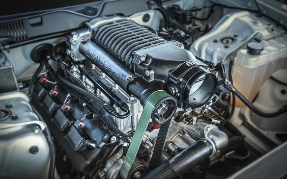 <p>Dodge Challenger Drag Pak Supercharged Gen III Hemi V8</p>