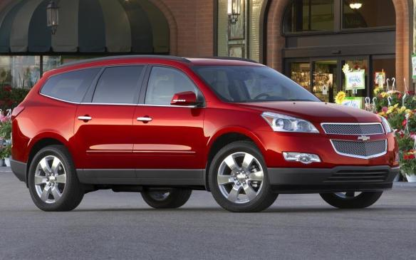 <p>2012 Chevrolet Traverse</p>