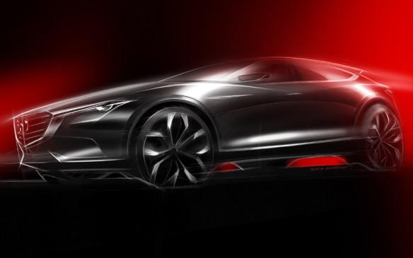 <p>Mazda KOERU concept</p>