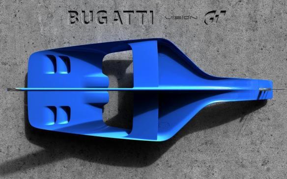 <p>Bugatti Vision Grand Turismo NACA duct</p>