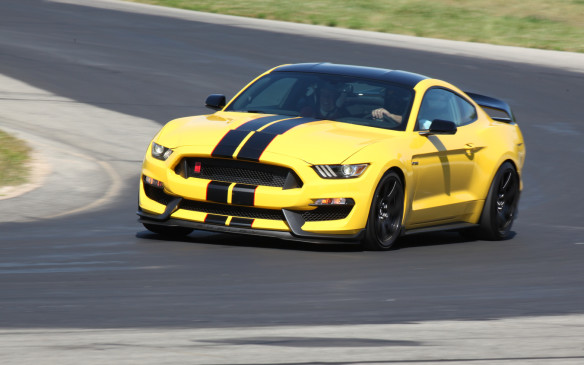 <p>Ford has been building and selling Mustangs for half a century. What better way to mark that milestone than with the most powerful, highest-revving normally-aspirated engine in Mustang history. That very special engine is bolted into the 2016 Shelby GT350 and its stripped-out, track-ready brother, the GT350R.</p> <p> </p>
