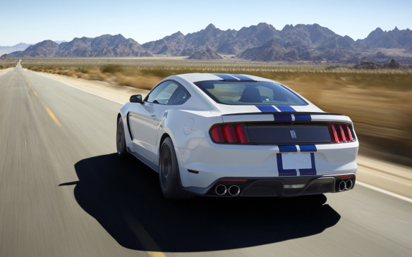 <p>All of which adds up to a performance car that is more than just the sum of its part. Whether you choose the road-oriented GT350 or the track-bred GT350R, it promises to be the best Mustang of its type, ever!</p>