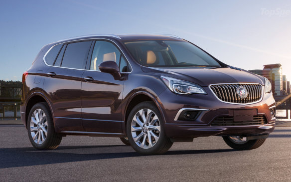 <p>Envision is rumoured to be coming to North America to slot in above the sub-compact Encore as a bridge to the mid-sized Enclave. Envision has been introduced in China and everything about it — including engines, size, production costs and the Buick desire to introduce a bunch of new models — seems to be aligning for an introduction here.</p>