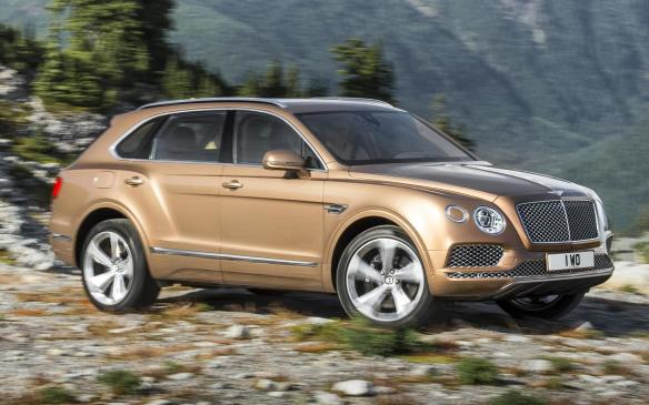 <p>Bentley's SUV is sort of named after Taiga, the boreal forest that stretches completely around the world, north of the 49th parallel. The first part of the portmanteau is named after the manufacturer Bentley, so the idea is that the vehicle is a Bentley for wilderness adventures, and it's at home in Canada, Russia, Iceland and pretty much every country in between.</p>